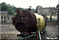 SE1511 : Boiler on the site of Smithy Place Mills, Brockholes by Chris Allen
