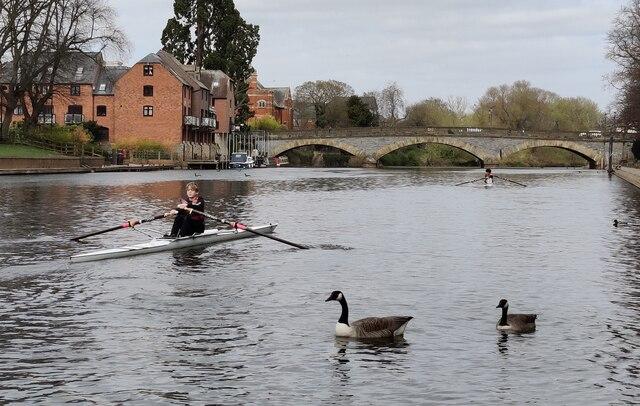 River Avon at Evesham