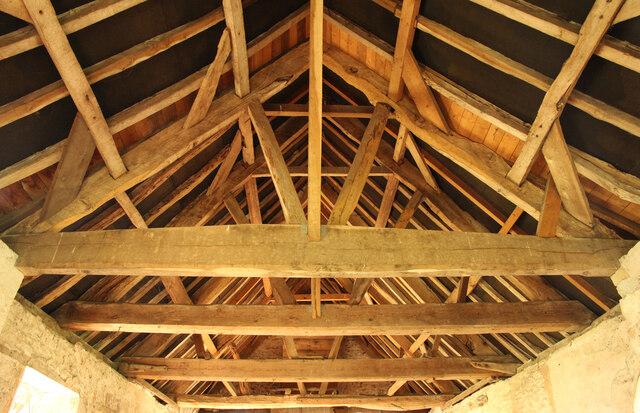 Elston Chapel roof structure