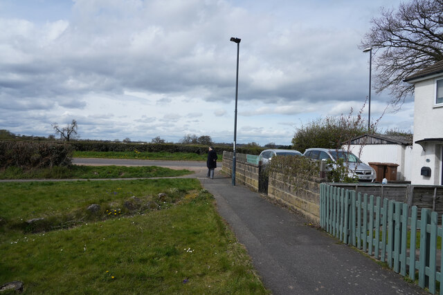 Looking towards Radbourne Lane