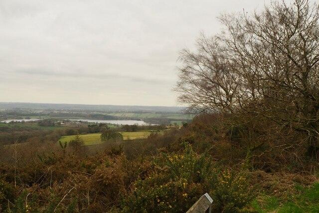View towards Ogston Reservoir