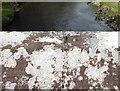 NY3124 : Benchmark, Threlkeld Bridge by Adrian Taylor