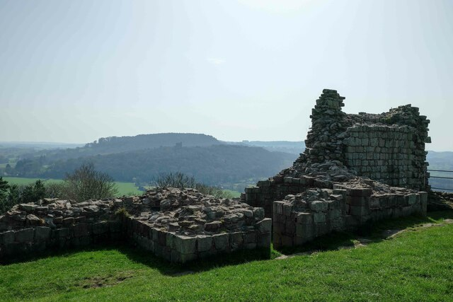 From the Inner Ward of Beeston Castle