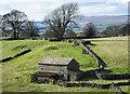 NY8513 : Barn on north side of Argill Beck by Trevor Littlewood