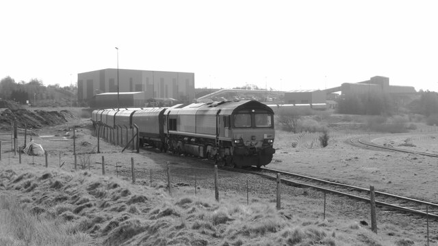 Coal train at Cwmbargoed