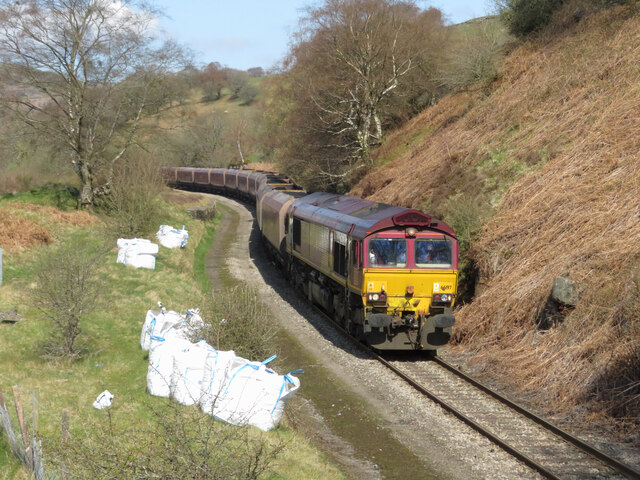Coal train in Bedlinog