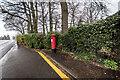 SJ9021 : George VI Post Box (1936-1952), Stafford by Brian Deegan