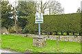 TF6806 : Fincham village sign by Adrian S Pye
