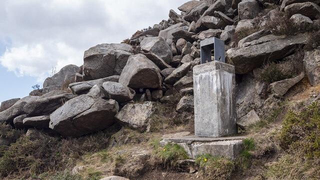 Survey Point, Ben Crom Reservoir