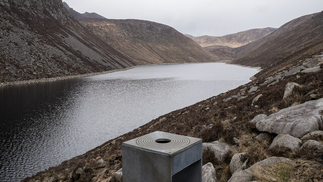 Survey Point, Ben Crom Reservoir