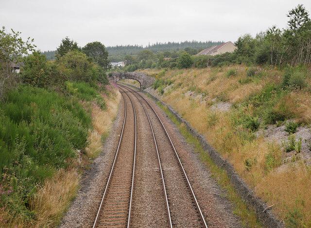 Railway line, by Smithton