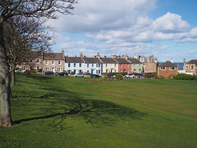 Houses in the Quadrant North Berwick