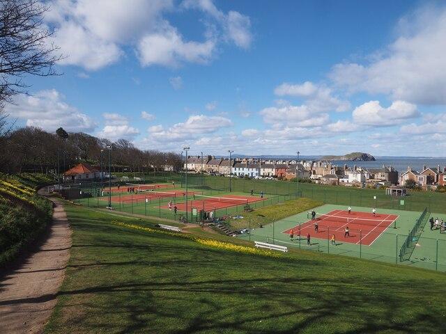 Tennis Courts at North Berwick
