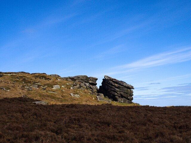 The eastern end of Stanage Edge