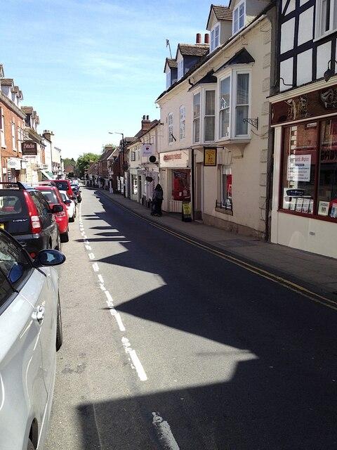 Northeast on Smith Street, Warwick 2013