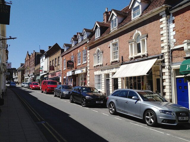 Uphill and southwest on Smith Street, Warwick 2013