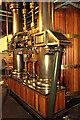 SK5852 : Papplewick Pumping Station - steam cylinder by Chris Allen