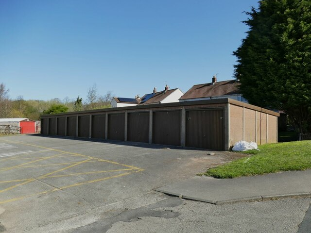 Lock-up garages, Shakespeare Road