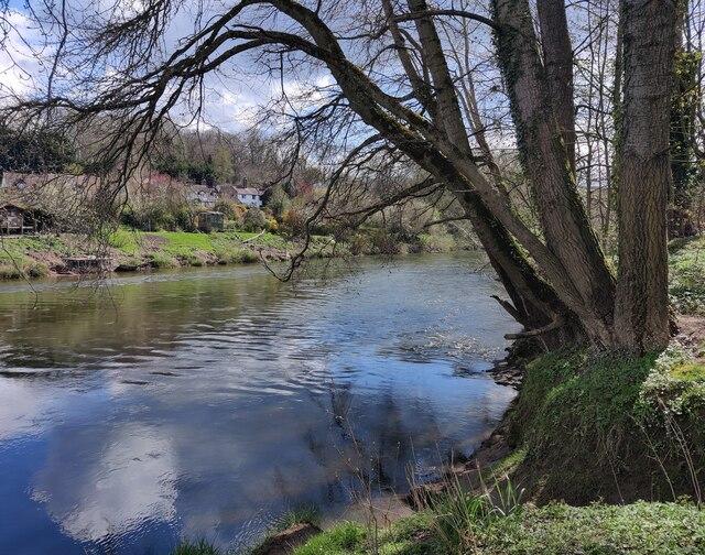 The River Severn at Hampton