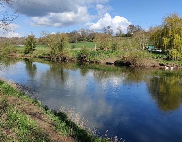 River Severn at Hampton