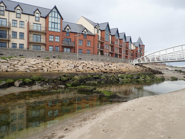 The Waterfoot Apartments overlooking the Shimna Estuary