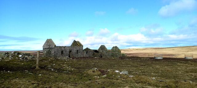 Littlegarth, near Uyeasound