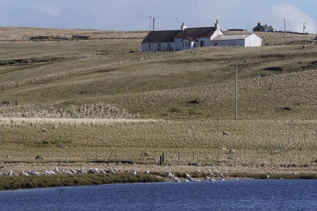 Loch of Cliff, Burrafirth
