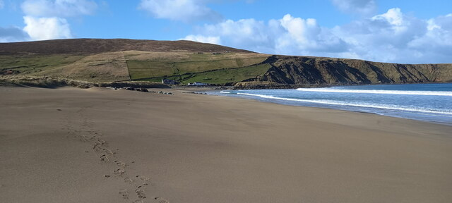 Norwick beach from the south end