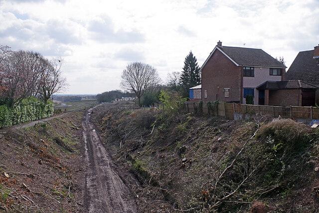 HS2 works, Burton Green