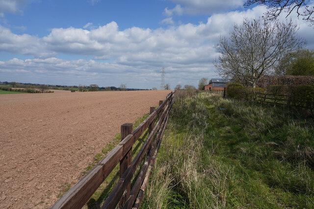A fenced field