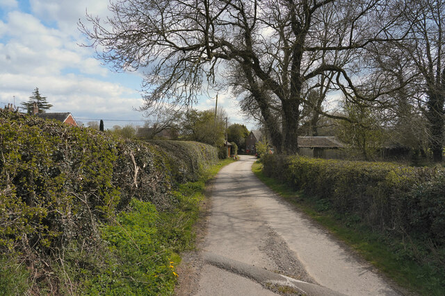 The lane to Kirk Langley