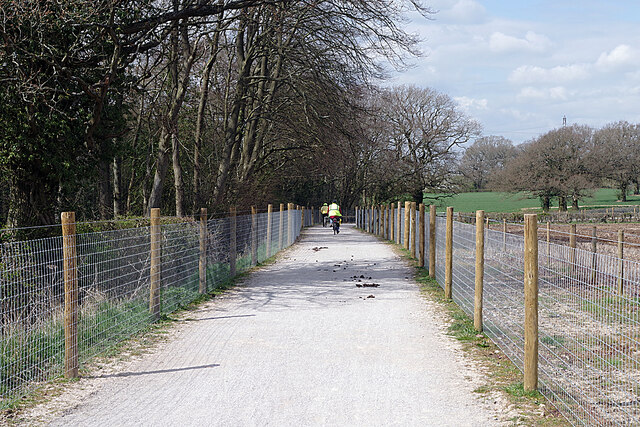 Temporary Kenilworth Greenway by Big Poors Wood