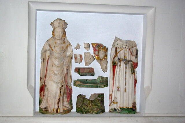 Alabaster figures