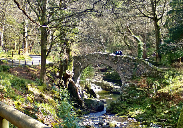 View downstream towards Foley's Bridge
