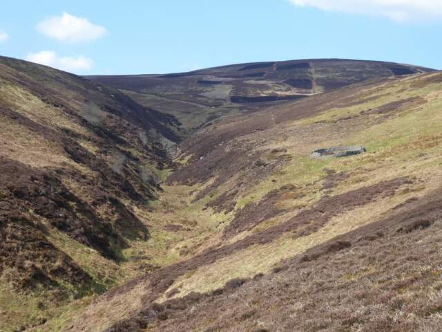 Valley of the Hawsen Burn