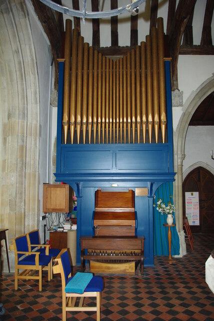 Organ in St Andrew's Church