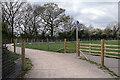 SP2676 : Temporary Kenilworth Greenway by Stephen McKay