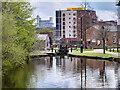 SJ8598 : Ashton Canal Basin at New Islington by David Dixon