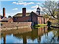SJ7387 : Moat and Carriage House at Dunham Massey by David Dixon