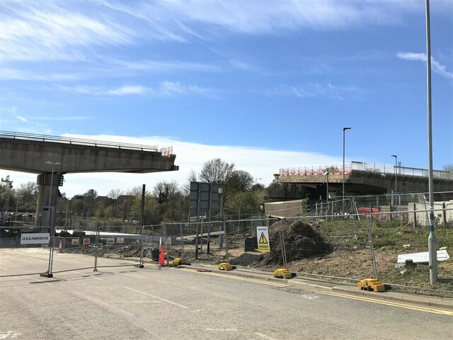 Removal of the A14 Huntingdon flyover - Photo 30
