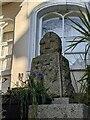 SW7834 : Old Wayside Cross in front of Penryn Museum by L Nott