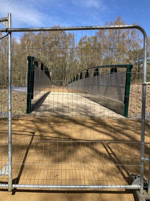 New Shere Heath crossing bridle bridge