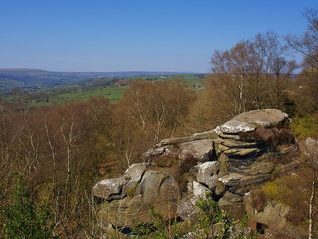 View from Brimham Rocks
