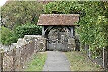 TQ9319 : Lych gate by N Chadwick