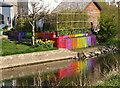 NT2540 : Colourful garden by the Cuddy, Peebles by Jim Barton