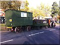 SP1587 : Steamroller and trailers, East Meadway by Alan Paxton