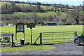 SO0527 : Brecon Cricket Club ground by M J Roscoe