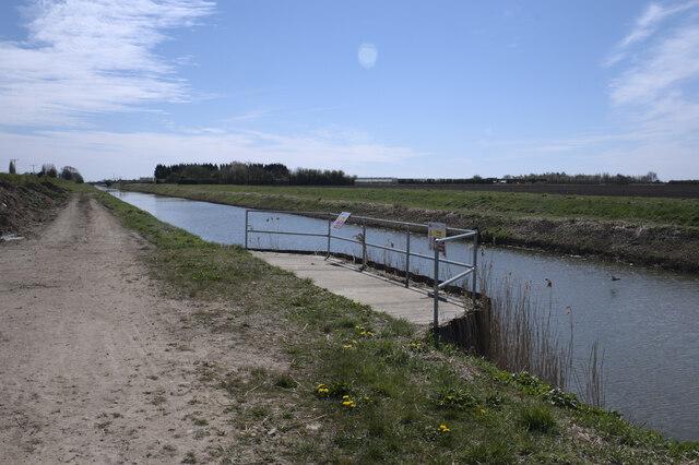 South Drove drain