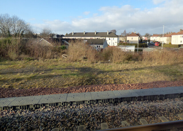 Site of Paisley Goods signal box