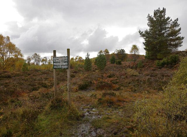 Moorland, by Loch na Bà Ruaidhe